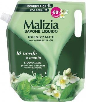 Рідке мило Malizia Зелений чай 1000 мл (8003510033041)