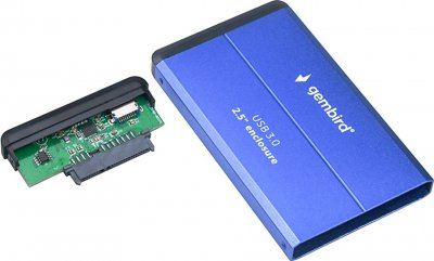 "Внешний карман Gembird EE2-U3S-2-B для 2.5"" HDD/SSD USB 3.0"
