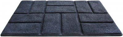 Килимок придверний IzziHome Torn Brick 50x75 Графітовий (2200000553225)