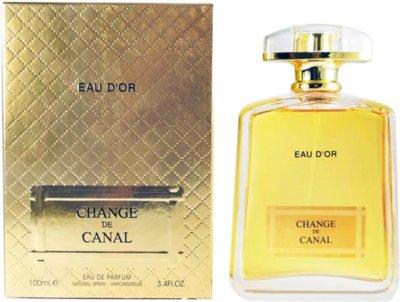 Парфюмированная вода для женщин Fragrance World Change De Canal Eau D'Or 100 мл (6291106485684)