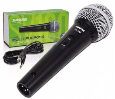 Мікрофон вокальний Shure SV100-W