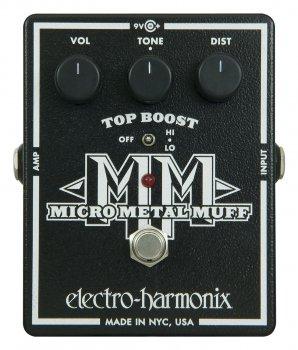 Педаль эффектов Electro-Harmonix Micro Metal Muff