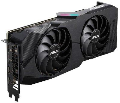Відеокарта AMD Radeon RX 5600 XT 6GB GDDR6 Dual Evo Asus (DUAL-RX5600XT-T6G-EVO)