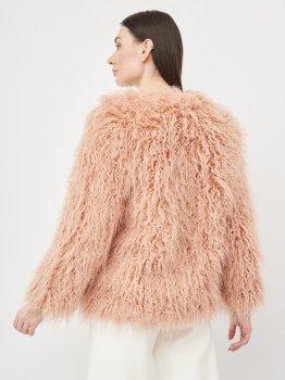 Шуба H&M KK5518206 Розовая