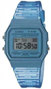 Чоловічі наручні годинники Casio F-91WS-2EF