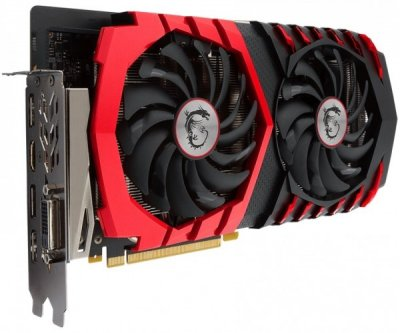 Відеокарта MSI GeForce GTX 1060 GAMING X 6G