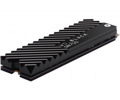 SSD накопичувач WD Black SN750 NVME SSD 1 TB (WDS100T3X0C)