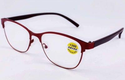 Очки с диоптрией Coffee 89862 +2 Red