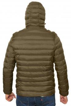 Куртка з підігрівом RLZ хакі від USB powerbank (550)