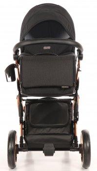 Універсальна коляска 2 в 1 Junama Diamond Individual 03 чорна (JD-IN-03)