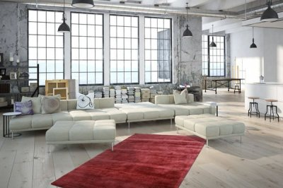 Коротковорсовий килим у стилі Ретро Kayoom Luxury 110 (NKZYO)