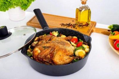 Сковорода с крышкой Ringel Caesar RG-1136-26 26 см