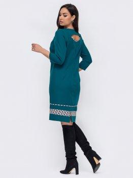 Плаття Dressa 52741 Темно-зелене