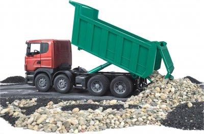 Игрушка Bruder Самосвал Scania M1:16 (03550)