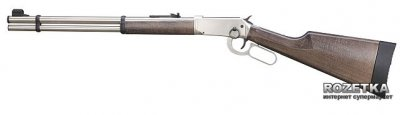 Пневматична гвинтівка Umarex Walther Lever Action Steel Finish (460.00.43)