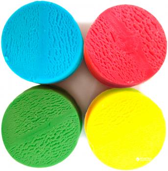 Незасыхающая масса для лепки ЭКО 4 цвета Ses Creative (24911S)