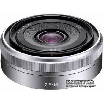 Sony 16mm, f/2.8 для камер NEX (SEL16F28.AE)