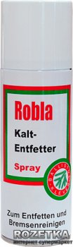 Знежирювальний засіб Klever Ballistol Robla-Kaltentfetter spray 200ml (4290022)