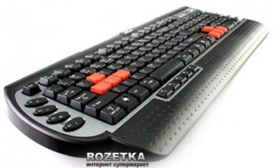 Клавіатура дротова A4Tech X7 G800V USB (4711421857062)