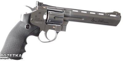 """Пневматичний пістолет ASG Dan Wesson 6"""" Silver (23702501)"""