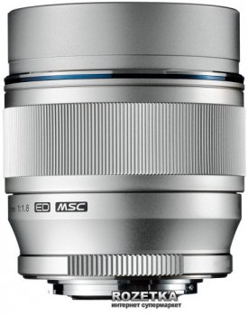 Olympus M.Zuiko Digital ED ET-M7518 75mm 1:1.8 Silver (V311040SE000)