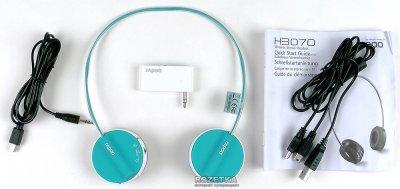 Наушники Rapoo Wireless Stereo Headset H3070 Blue