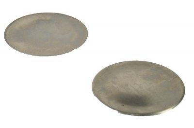 """Крышка рассекателя для газовой плиты Электа """"сталь"""" d=85mm"""
