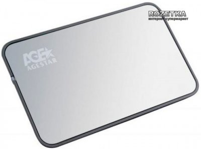 "Внешний карман Agestar для HDD 2.5"" USB3.0 (3UB 2A8 Silver)"