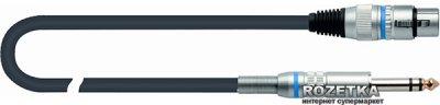 Мікрофонний кабель Quik Lok CM188-6BK 6 м (210732)