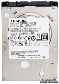 "Жорсткий диск Toshiba SSHD 500GB 5400rpm 32MB MQ01ABF050H 2.5"" SATAIII"