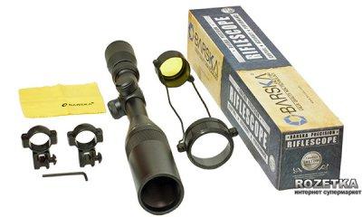 Оптичний приціл Barska AirGun 3-12X40 AO (Mil-Dot) Full Set (920709)