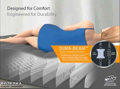 Надувне ліжко Intex 152 х 203 х 56 см (64418)