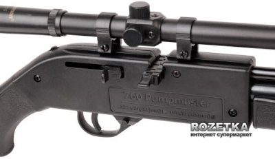 Crosman Pumpmaster 760X з прицілом 4x15