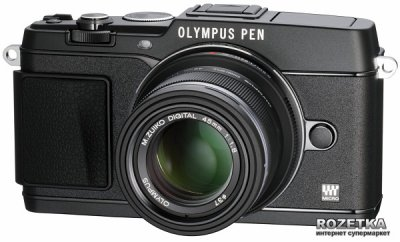 Olympus M.Zuiko Digital ET-M4518 45mm 1:1.8 Black (V311030BE000)