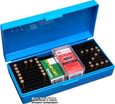Коробка МТМ SB-200 для патронів 22 LR, 17 HMR 200 шт. Синій (17730373)