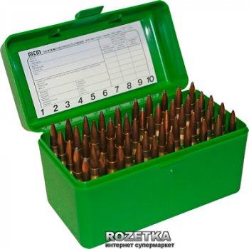 Коробка МТМ RM-50 для патронів 308 Win 50 шт. Зелений (17730474)