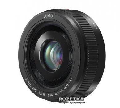 Panasonic Micro 4/3 Lens 20mm F1.7 ASPH Metal Body Black (H-H020AE-K)