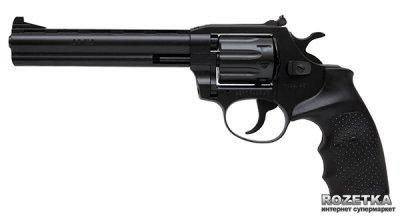 """Револьвер Alfa мод 461 6"""" (вороненный, пластик) 144922/13 (14310051)"""