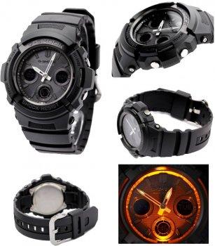 Чоловічий годинник CASIO AWG-M100B-1AER