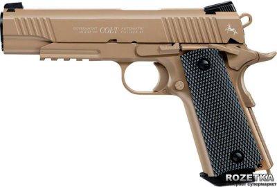 Пневматичний пістолет Umarex Colt M45 CQBP FDE (5.8177)