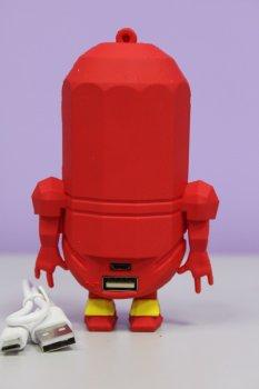 Дитячий Powerbank Fonex міньйон червоний 8800 mAh