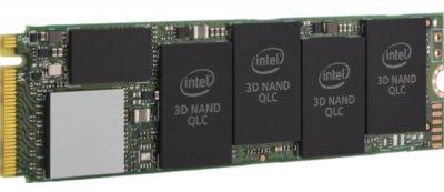 Твердотільний диск SSD M. 2 1TB Intel 660p Series PCIe Gen 3.0 x4 2280 QLC (SSDPEKNW010T8X1)