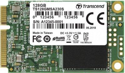Твердотільний диск mSATA 128GB Transcend TLC (TS128GMSA230S)