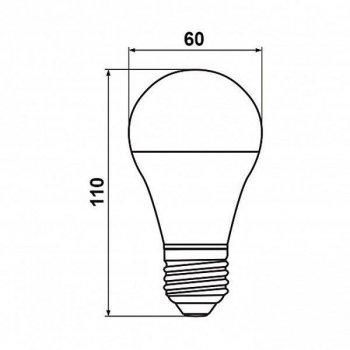 Светодиодная лампа Biom А60 12W E27 3000 К