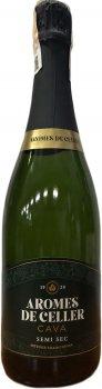 Вино игристое Arromes De Celler белое полусухое 0.75 л 11.5% (8410644122020)