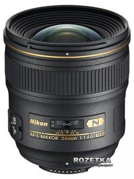 Nikon AF-S Nikkor 24mm f/1.4G ED (JAA131DA) Офіційна гарантія!