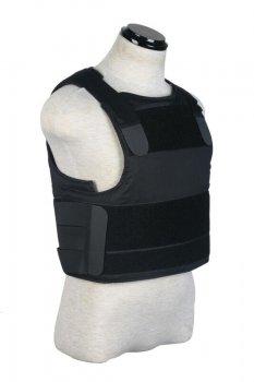 Бронежилет Pantac SVS Soft Armor Cover BA-T018 (PACA Body Armor) Чорний