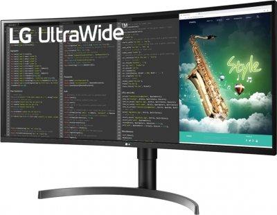"""Монітор 35"""" LG UltraWide 35WN65C-B"""