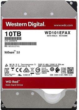 Жесткий диск Western Digital Red 10TB 7200rpm 256MB WD101EFAX 3.5 SATA III