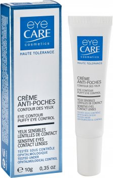 Крем против отеков под глазами Eye Care Eye Contour Уменьшает отеки и морщины 10 г (3532661001128)